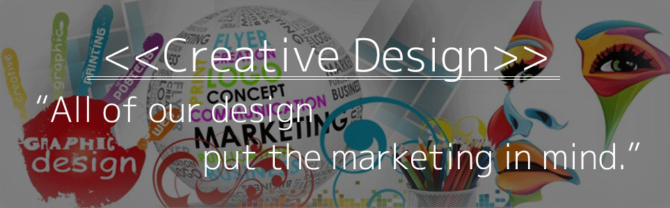 Design that put the marketing in mind.